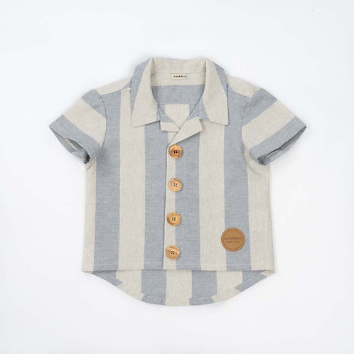 Shirt Baby Blue Stripes