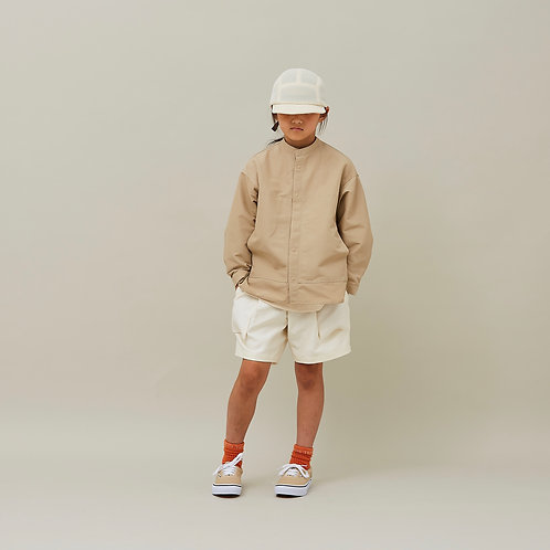 60/40 grosgrain pocket shirts beige