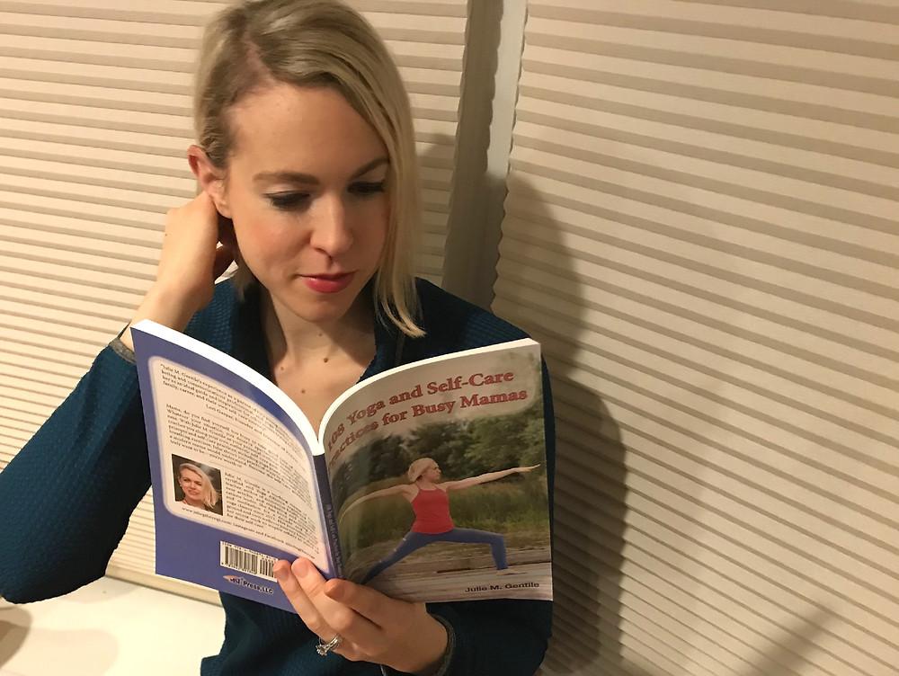 yoga, self-care, juliegtheyogi, books, read