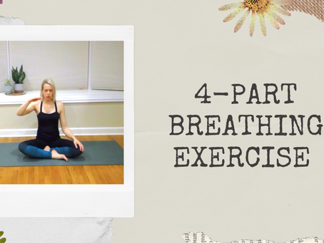 4-Part Breathing Exercise