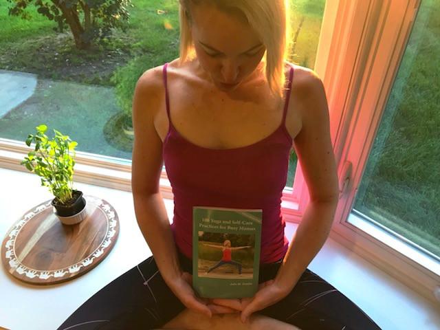yoga, self-care, juliegtheyogi, book
