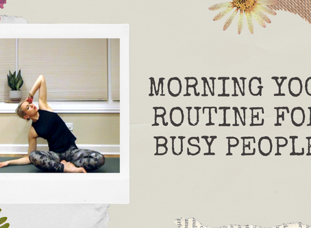 9-Minute Morning Yoga Practice for Busy People