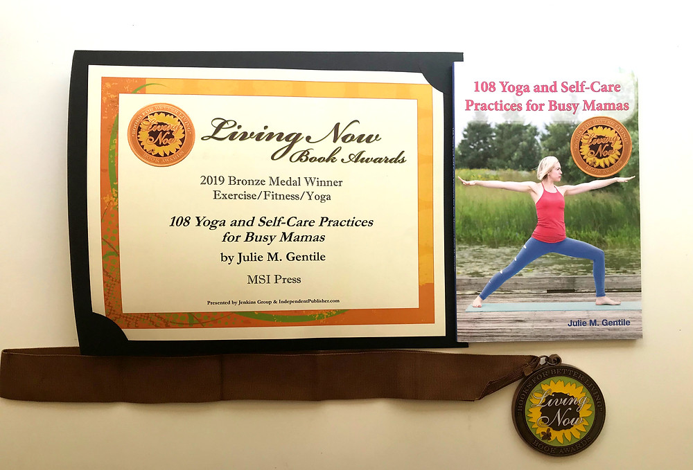 yoga, self-care, juliegtheyogi, author, book, busy, busy mom, working mom, working mother, wellness