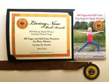 108 Yoga and Self-Care Practices Receives Bronze Medal From Living Now Book Awards