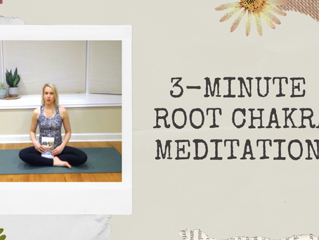 3-Minute Root Chakra Meditation