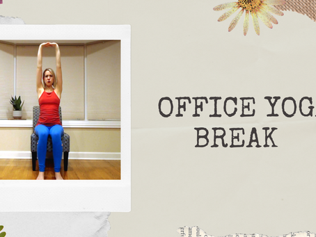 Office Yoga Break