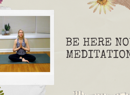 3-Minute Mantra Meditation: Be Here Now