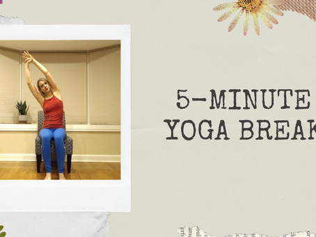 No Time for Self-Care? Give Yourself This 5-Minute Yoga Break