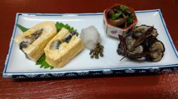 鰻 竹の膳 (一部のお料理です)