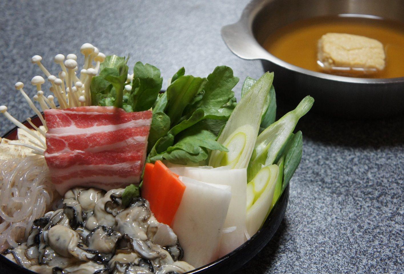 かき土手鍋