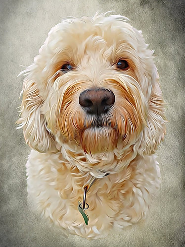Portrait of Your / Your Friend or Family Pet