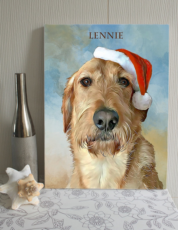Personalised dog portrait