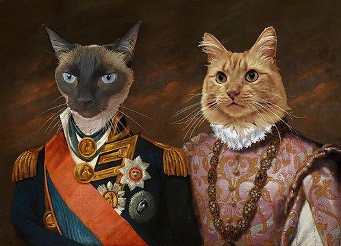Double Portrait of Your Pets