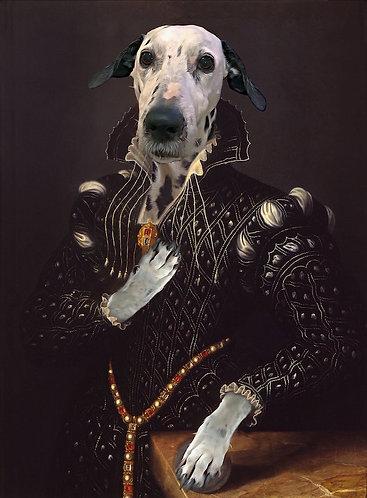 Lucrezia Borgia Portrait of Your/Friends/Family Pet gallery wrap
