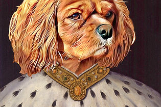 King Charles portrait