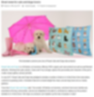 Puppies with cats & dogs cushions