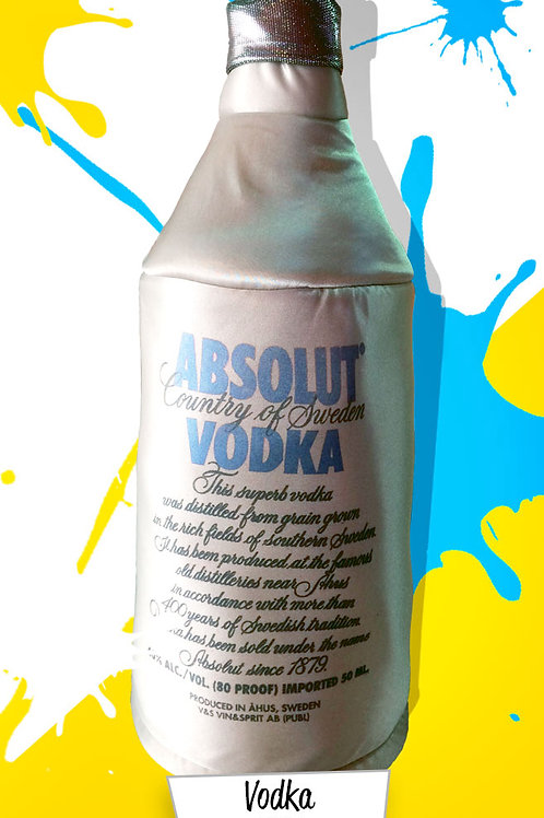 Botella de Vodka Absolut