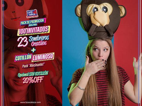 Promo Alucinante Sombreros + Cotillón