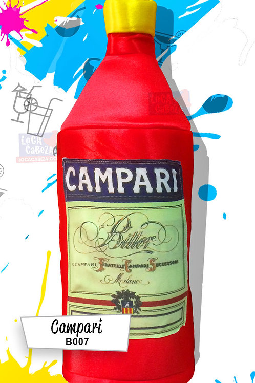 Botella de Campari