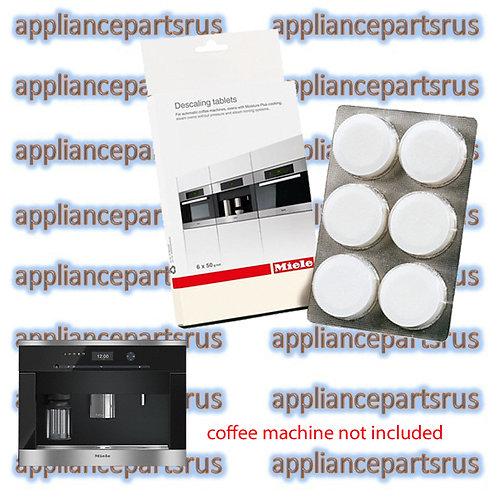 Miele Coffee Machine Descaling Tablets 10178360 07983340 05626050 Pk 6