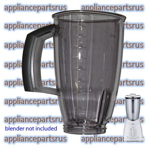 Braun 4184 Blender Acrylic Jug Part BR64184622 7322310454