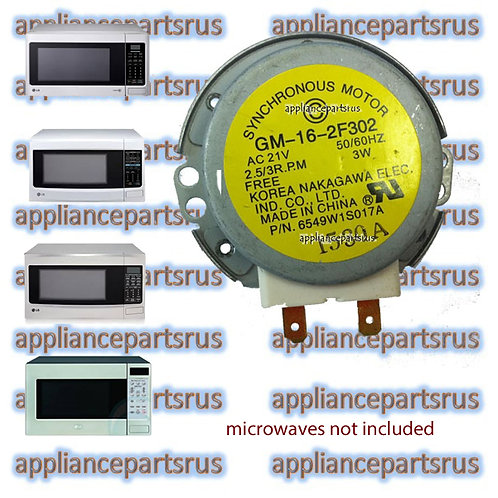 LG Microwave Turntable Motor 21V 2.5/3RPM 6549W1S017A 6549W1S011B
