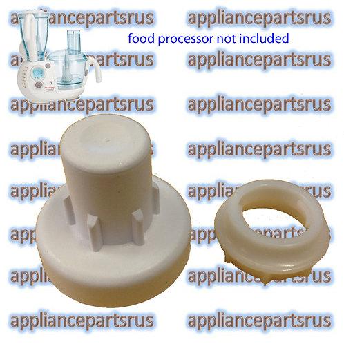 Moulinex Odacio Food Processor Lock Nut MS0678510 & Shaft MS5980353