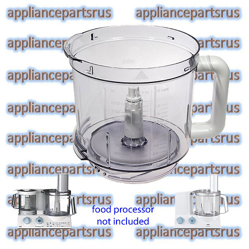 Braun 3202 3205 Food Processor Bowl Part BR67051144 7322010204