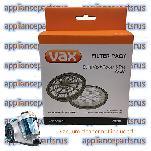 Vax VX28 Power 5 Pet Barrel Vacuum FIlter Set Part VX28F