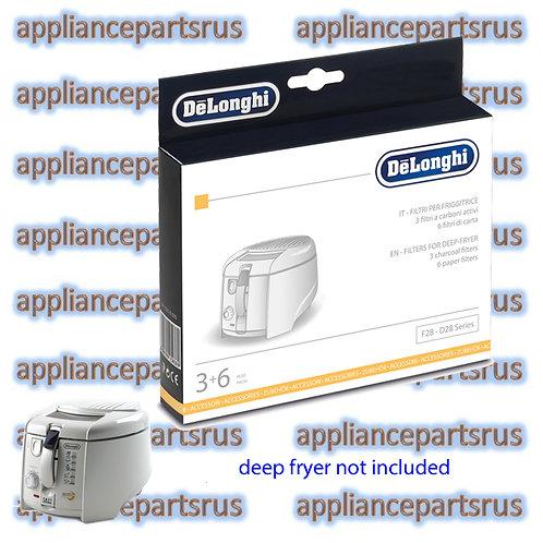 De'Longhi Deep Fryer Filter Kit for F28 D28 Series Part 5512510041