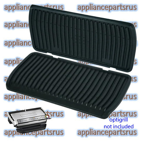TEFAL Optigrill XL GC722D Upper & Lower Plates TS01041600 & TS01041610