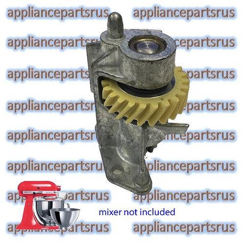 KitchenAid KSM150 KSM160 Mixer Gear Worm Assembly with Bracket Part 240309-2