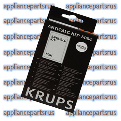 Krups F054 Anti Calc Kit Part F054001B 2 Sachets 80g total