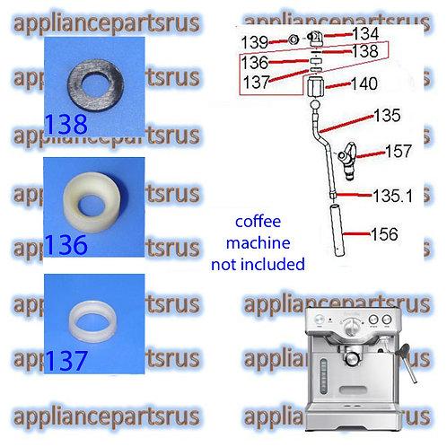 Breville 800ES Coffee Machine Steam Arm Seal Kit