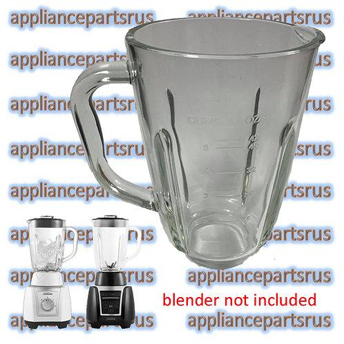 Sunbeam PBT2000WH PBT3000BK Glass Blender Jug PBT200030