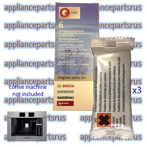 Bosch Coffee Machine Descaling Tablets Part 311864 311556 310967