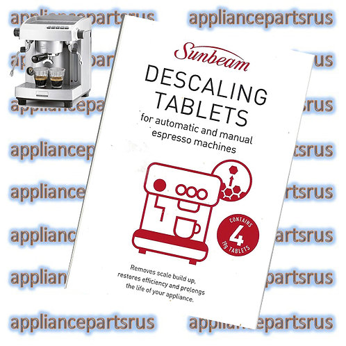 Sunbeam Espresso Machine Descaling Tablet EM0010 Pack of 4 Tablets