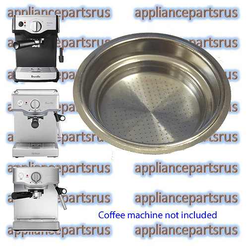 Breville BES200 BES250 Coffee Machine Dual Floor 1 Cup Filter Part BES250/213