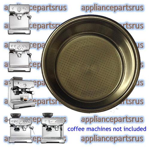 Breville BES810 BES840 BES860 BES870 Dual Floor 2 Cup Filter Part BES860/11.41