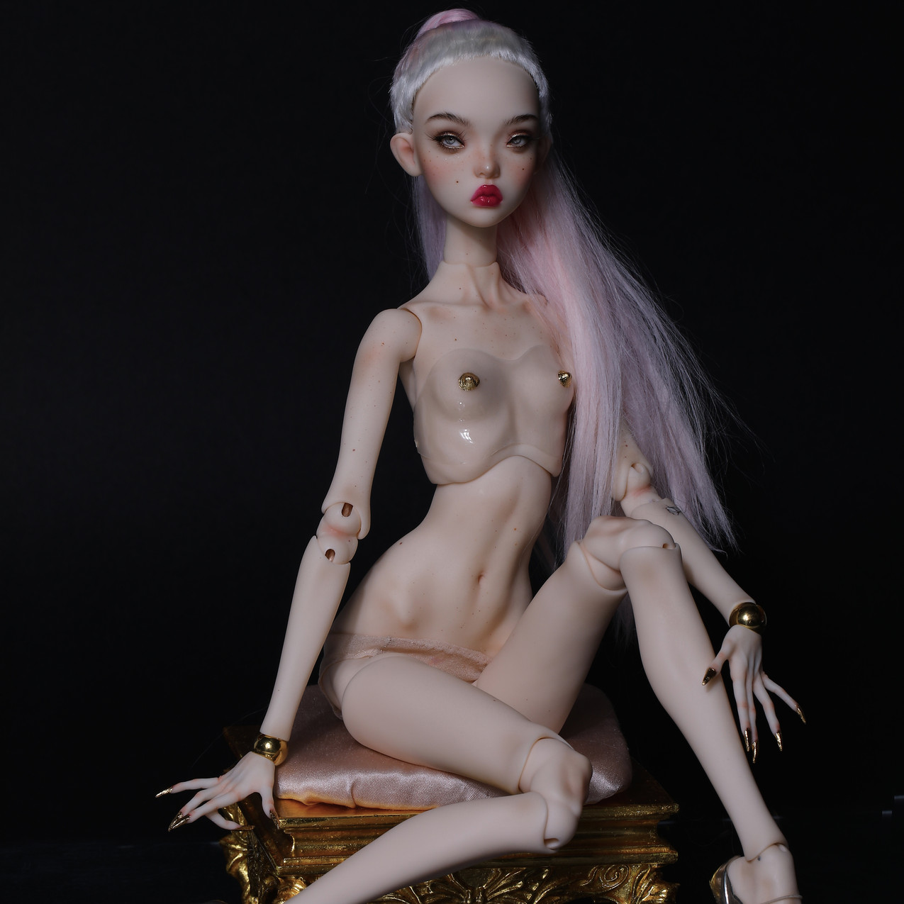 One of a kind doll for Jean Paul Gaultier