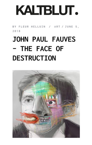 John Paul Fauves for KALTBLUT