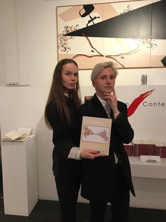 With Artist Ty Joseph