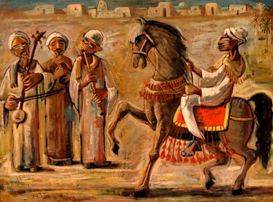 The Dancing Horse and the Musicians of Upper Egypt