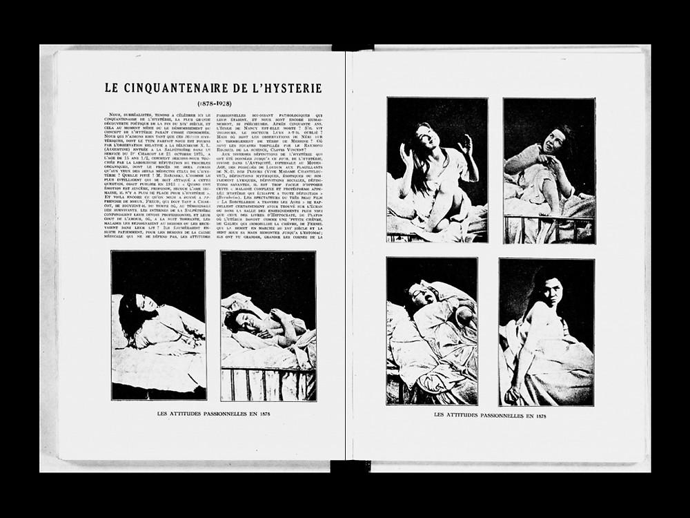Journal La Révolution Surréaliste photographs of Augustine | JM Art Management