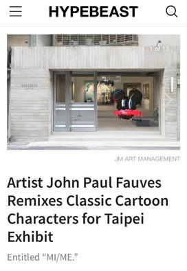 HYPEBEAST about John Paul Fauves