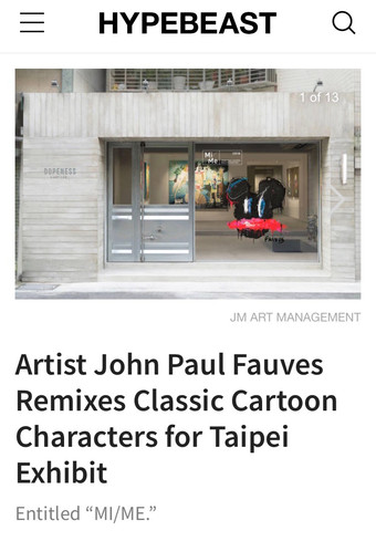 HYPEBEAST about John Paul Fauves