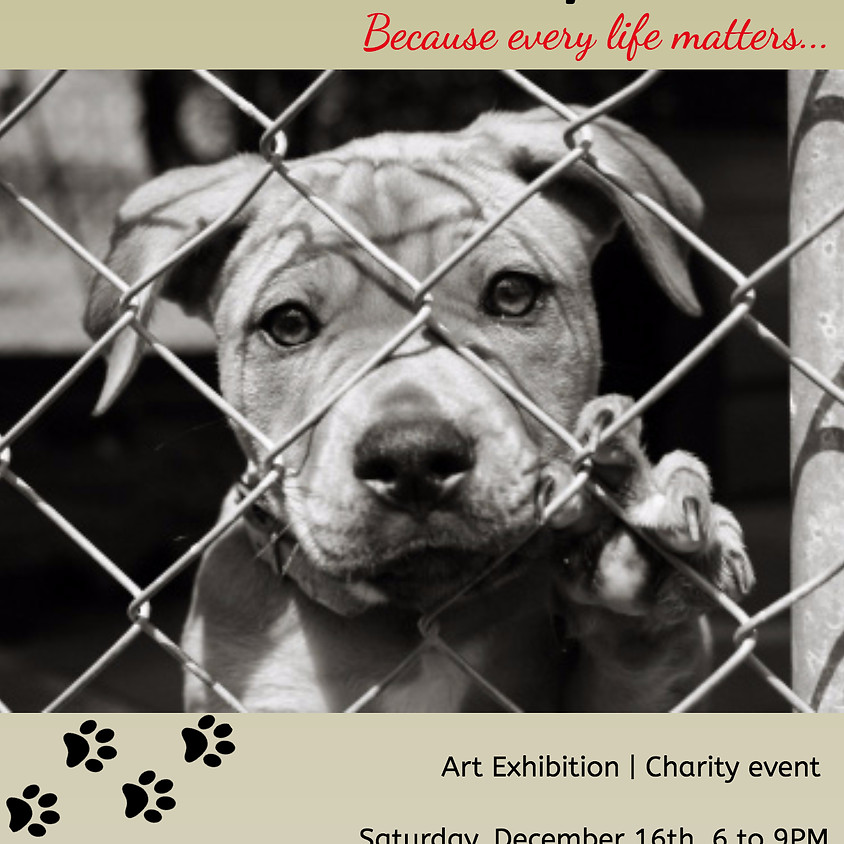 I STAND WITH MY PACK Art Exhibition & Charity event