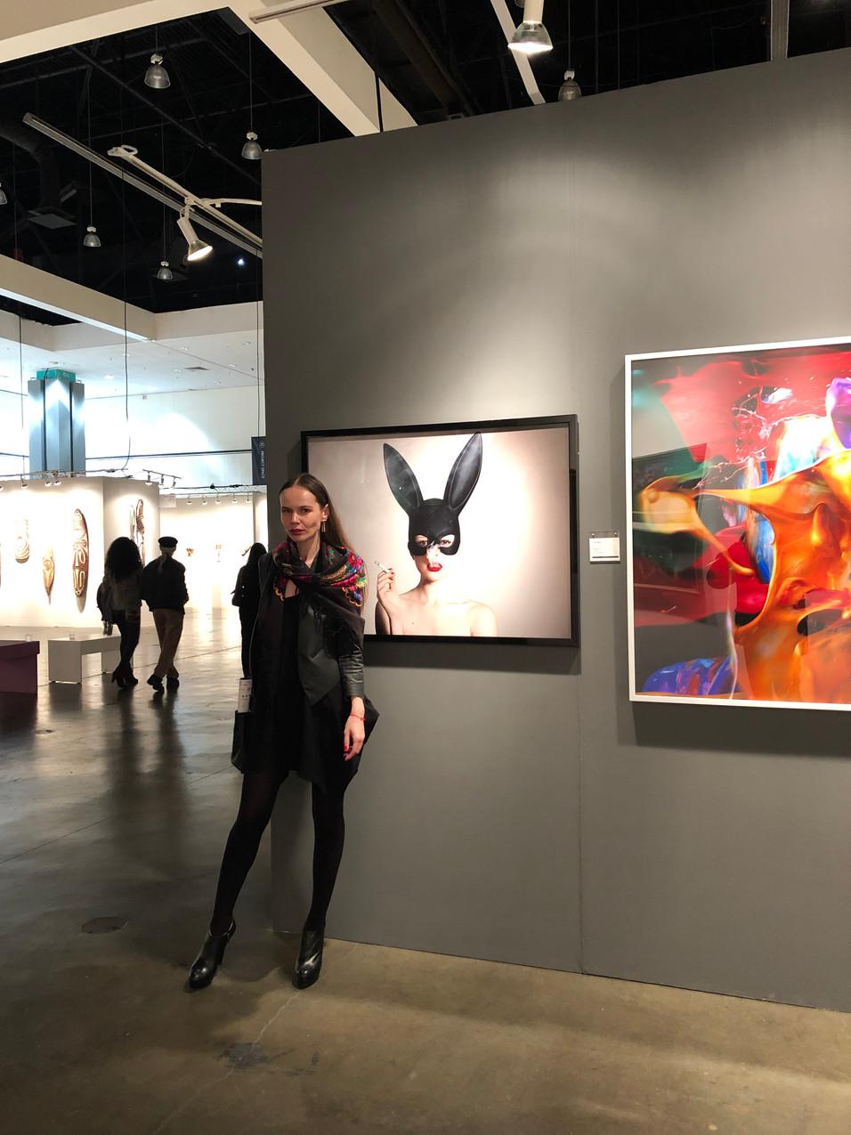 LA Art Show - opening night
