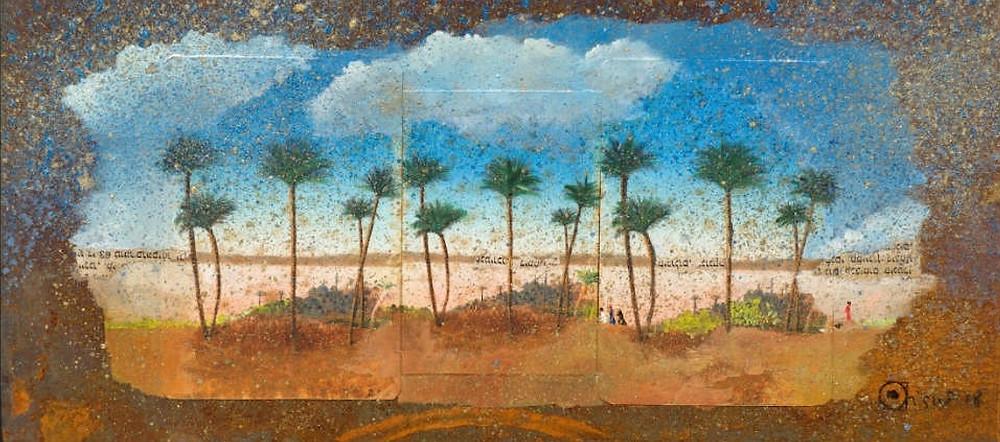"""""""Les Palmiers 2"""" - Katherine Bakhoum-Tisné - JM Art Management"""