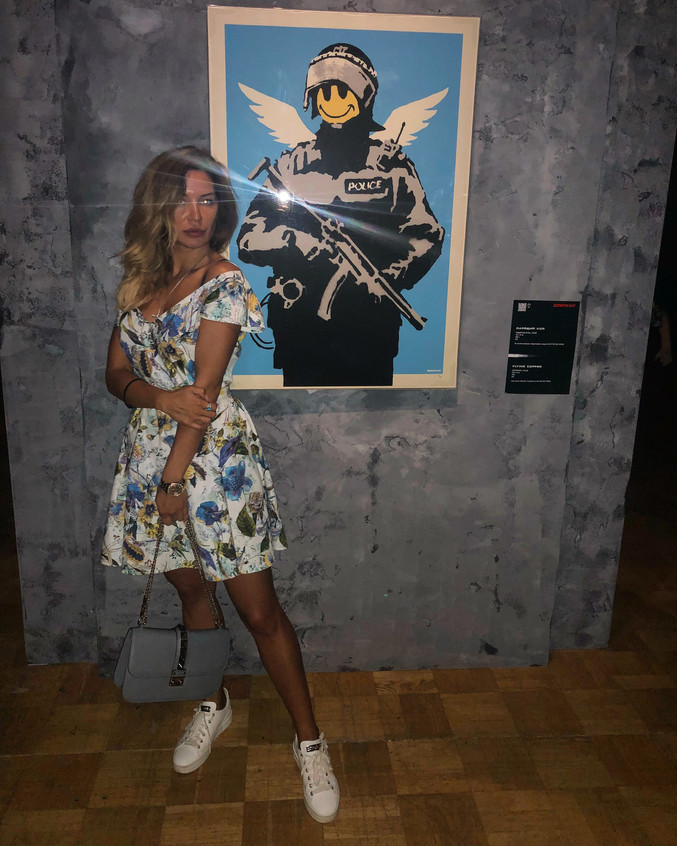 Banksy exhibition Moscow 2018